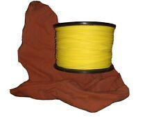 Skin Diver / Scuba Cord ~ 1/8� X 500' Spool Hi Vis Floating Yello Cord