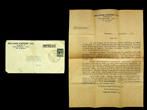 MEXICO 1949 POST WWII 2c ON COVER TO USA WITH LETTER
