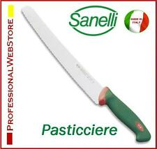 COLTELLO PROFESSIONALE SANELLI PASTICCIERE SANELLI PANE PIZZA SEGHETTATO TORTE