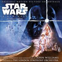 Star Wars A New Hope Original Motion Picture Soundtrack 2 LP John Williams New