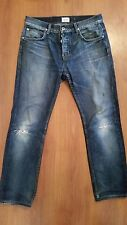 HUDSON Jeans size 30 x 29 Destroyed Button Fly 100% Cotton
