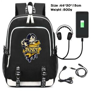 Bendy and the ink machine Backpack School Laptop bag