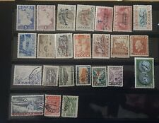 A Nice collection  of 24 diff. used postage stamps of Greece issued after 1911