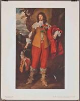 Vintage National Gallery Of Art Print Van Dyck Henri II De Lorraine Duc De Guise
