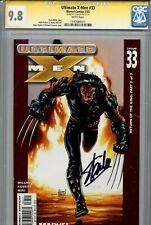 Ultimate X-Men 33 CGC 9.8 SS Stan Lee Millar Kubert Wolverine 1 of 2 on census
