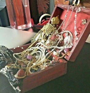 Pirates Treasure Chest Handmade with treasure