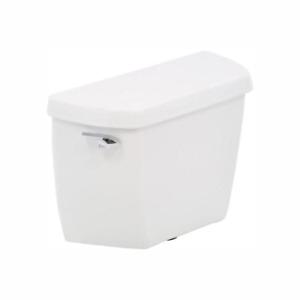 KOHLER Single Flush Toilet Tank 1.28 GPF Gravity-Assisted Siphoning Action White