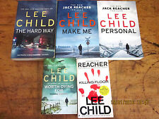~LEE CHILD x 5 - MAKE ME (2015), KILLING FLOOR, PERSONAL, THE HARD WAY + 1 - GC~