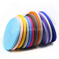 Cotton Binding Tape Bias Ribbon Strap DIY Sewing Craft Webbing Trimming 19Colors