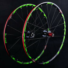 MTB Mountain Bike 26inch Alloy Rim sealed bearing Wheels Wheelset Rim Pro US Hot