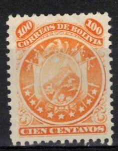 BOLIVIA Scott 13 MNG ## 1 cent start ##