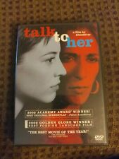 Talk to Her (Dvd, 2003) Widescreen Very Good condition Complete with insert