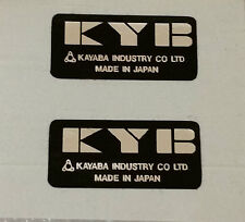 X2 YAMAHA FS1-E TY RD XS KYB SHOCK ABSORBER DECALS X2