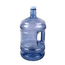 Clear Drinking Water Bottle Reusable 5 Gallon Plastic Travel Container Dispenser