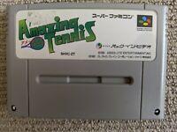 David Crane's Amazing Tennis for Nintendo Super Famicom / SNES (NTSC-J)