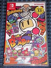 NEW Nintendo Switch Super Bomberman R 1-8 Players HUDSON KONAMI JAPAN import F/S