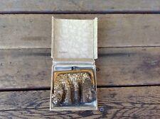 Vintage Whiting & Davis Co Mesh Bag Coin Purse 2684 - USA