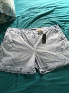 Ladies Plus Size 24 Marks And Spencers Collection Shorts BNWT