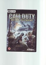 CALL OF DUTY 1 : UNITED OFFENSIVE EXPANSION PACK - PC GAME - ORIGINAL & COMPLETE