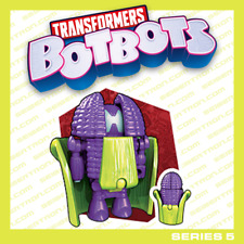 THE CORN CRUSADER Transformers BotBots Series 5 Los Deliciosos purple corn 2020
