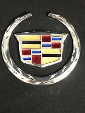 """NEW Cadillac Escalade 4.25""""Trunk/Grill Emblem CTS STS DTS SRX XLR ATX XTS"""