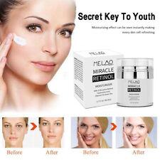 Retinol 2.5%Face Cream Anti Ageing Wrinkles with Hyaluronic Acid VitaminE NEW jo