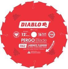 """NEW FREUD D1216LF 12"""" 16 TEETH DIABLO PERGO FLOORING DIAMOND SAW BLADE 9022674"""