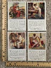 Four Calendar Postcards Oshkosh Furniture & Undertaking Co, Wisconsin~118912