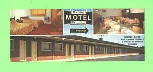 AA POSTCARD MOTEL R 100 CHEMIN CHAMBLY P QUEBEC POST CARD