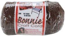Macrame Cord - Bonnie Cords, Brown, 6mm 100 yards