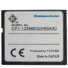 5pcs Hagiwara Sys-Com 128MB CompactFlash Memory Card (H00AA) Made In Japan