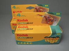 Kodak UltraMax 800 24 Exp 35mm, 2 packs (8 rolls) - Freeze stored