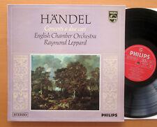Philips 6882 004 Handel Concerti A Due Cori Raymond Leppard NEAR MINT Italy