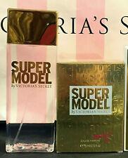 Victoria's Victoria Secret SUPER MODEL 2.5oz Perfume Parfum & Mist Spray 2pc Set