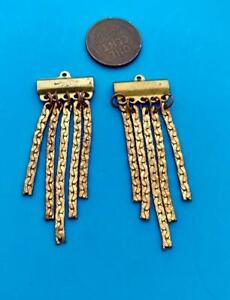 Vintage Large 18 x 55mm Dangling Metal Chain Charms Findings 2