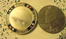Commerative large/dollar size /heavy medal/Token /Poker #207