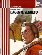L'AGENTE SEGRETO  di  J. Fenimore Cooper ILLUSTRATO da Nardini 1972 Topo Biblio