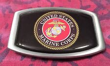 US MARINE CORPS BELT BUCKLE LICENSED BUCKLES NEW