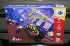Extreme-G (Nintendo 64, N64 1997) H-SEAM SEALED! - EXCELLENT! - RARE!