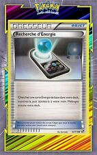 Recherche d'Energie-N&B: Noir et Blanc - 93/114 - Carte Pokemon Neuve Française