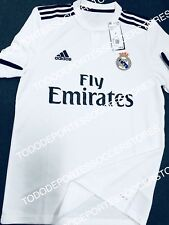 15aac0b77f7 Real Madrid Adidas 2018 2019 Original Home Soccer Jersey Size XL