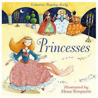 Touchy-feely Princesses (Touchy-Feely Board Books) (Touchy-Feely Books), Watt, F