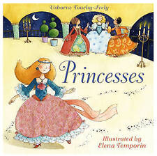Touchy-feely Princesses by Fiona Watt (Board book, 2007)