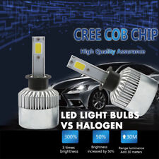 Pair H3 1500W 225000LM Car CREE LED Conversion Foglight Fog Driving Bulbs 6000K