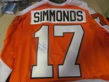 Wayne Simmonds Philadelphia Flyers Signed Custom Jersey COA 7d14a7b70