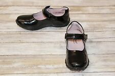 Pediped Girl's Beverly Dress Shoes - Black Patent - Size 31 ( US 13 - 13.5 )