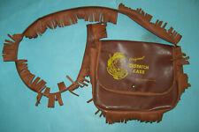 Vintage 1950s Davy Crockett Original Dispatch Case by Neptune Plastics