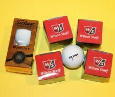 Golf Balls - Small Lot - New - Titleist / Wilson