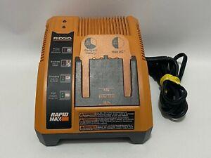 Rigid Rapid Max Battery Charger 12V 14.4V 18V, Model 140276001 Tested