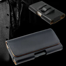 Business Outdoor Belt Clip Holster PU Leather Wallet Carry Pouch Sleeve Case